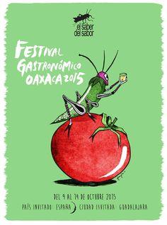 Festival El Saber del Sabor del 9 al 14 de octubre de 2015 #Oaxaca