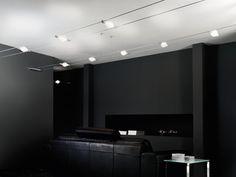 Sistema de cadeia de vidro jateado ADAM C0 - de Majo Illuminazione