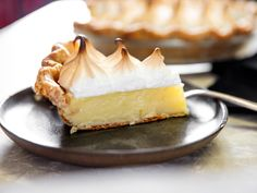 This pie relies on the killer combo of citrus and dairy (think Creamsicle) for a mellow, sweet, and sour dessert. The crispy whole wheat crust underscores the zippy custard with its graham-like flavor, while fluffy peaks of toasted meringue recall those of a classic lemon meringue pie. It all comes together in a pie that tastes both familiar and distinctive at the same time.