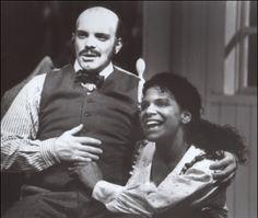 Eddie Korbich and Audra McDonald in Carousel 1994