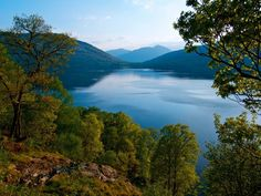 The West Highland Way hiking trail, Scotland Highlands