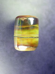 Glass dread bead. :: Shop DreadStop.Com for Leather Dreadlock Cuffs, Ties & Dread Beads #dreadstop