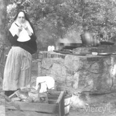 #Mercy Sisters from Ft. Scott, Kan., used to love spending time outdoors in Gunn Park. What do you suppose they were cooking?#throwbackthursday  #tbt
