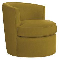 Otis Swivel Chair - - Modern Living Room Furniture - Room & Board Modern Swivel Chair, Upholstered Swivel Chairs, Leather Recliner Chair, Modern Chairs, Modern Armchair, Chair Fabric, Chair Cushions, Living Room Chairs, Living Room Furniture