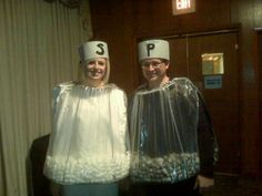 Halloween Costumes - Salt and Pepper Shakers!
