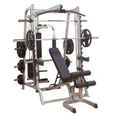 $2,825.00 (CLICK IMAGE TWICE FOR UPDATED PRICING AND INFO)  Body Solid Series 7 GS348P4 Smith Machine Gym with Linear Bearings. See More Smith Exercise Machines at http://www.zbuys.com/level.php?node=3840=smith-exercise-machines