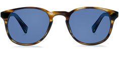 Warby Parker Downing Striped Sassafras