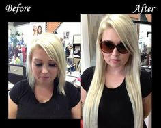 Micro Ring / Cold Fusion Hair Extensions www.instantbeauty.ca