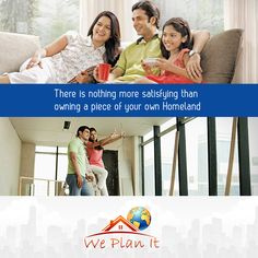 There is nothing more satisfying than owning a piece of your own Homeland.  For details on latest #LuxuryProperty in India visit: www.weplanithk.com Or Call + 852-98101465 We Plan It - Hong Kong - We are #RealEstate Advisory in #HongKong For #IndianProperty.