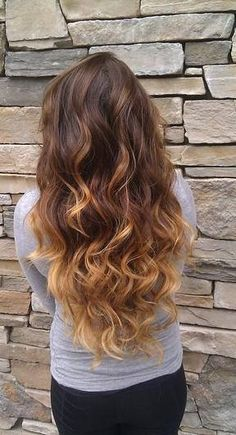Classic waves and dip dye