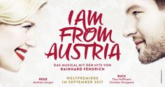 Musical Vienna - I Am From Austria Austria, Musicals, Have Fun, My Love, Theater, Movie Posters, Theatres, Film Poster, Teatro