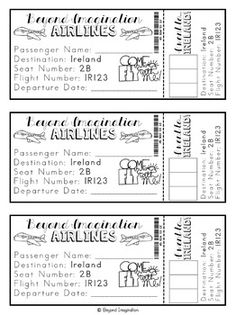 Ireland Country Study | 48 Pages for Differentiated Learning + Bonus Pages #Ireland #country #study #teacherspayteachers #TPT #social #studies #passport #beyond #imagination