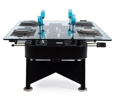fooseball table and dinner table - Google Search