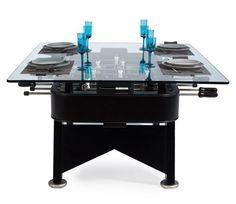 fooseball table and dinner table - Google Search