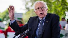 This land is your land, what a perfect song for the moment. ---- Bernie Sanders Challenges Hillary Clinton at His First Rally - First Draft. Political News, Now. - The New York Times