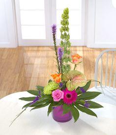 arreglos con palmas y flores - Buscar con Google