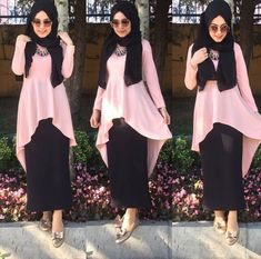 Islamic Fashion, Muslim Fashion, Modest Fashion, Girl Fashion, 90s Fashion, Maxi Outfits, Modest Outfits, Fashion Outfits, Modele Hijab