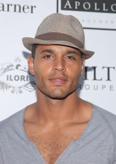Daniel Sunjata, lookin' good. . but can he really *be* Ranger? My expectations are so high for the character . . .