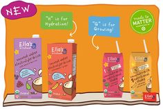 Just like learning the ABCs + 1,2,3s, it's important that little ones are getting all the nutrients + energy they need to grow big + strong!   For $1 off coupon click here! http://ell.as/kPBWZqr
