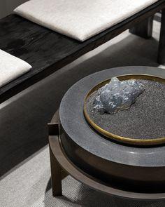 追蹑人文足迹,致敬风骨大家 | 苏州万科·大家售楼处_搜狐时尚_搜狐网 New Chinese, Chinese Style, Zen Interiors, Chinese Interior, Chinese Element, Joinery Details, Oriental Design, Furniture Inspiration, Tea Set