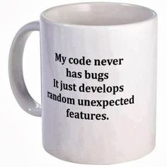 as a programmer i tell this myself everyday :) by crazy_programming Computer Jokes, Computer Science, Computer Lab, Programming Humor, Computer Programming, Tech Humor, Bugs, Software Development, Software Testing