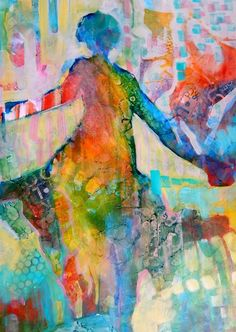 """""""Life's a Dance"""", Mixed Media, by Carly Hardy"""