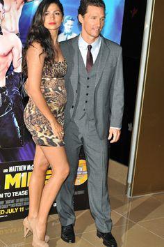 Channing Tatum, Matthew McConaughey premiere Magic Mike in London