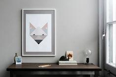 Silke Bonde Print Fox