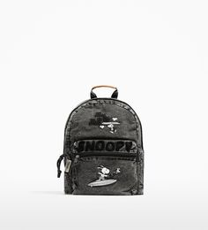 Image 1 of SNOOPY BACKPACK from Zara
