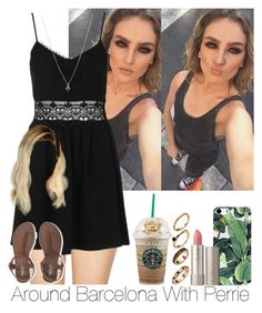 """»Around Barcelona With Perrie."" by storyofmylife1danita-scream on Polyvore featuring Wildfox, Topshop, Aéropostale, Ilia and ASOS"