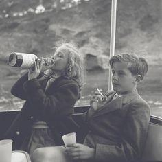 The best part about parent's parties was...