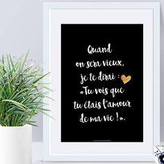 Affiche Déclarations Amour #love #citation #boyfriend