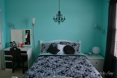 Redecorate on the cheap and create an awesome room for your teen. #decorate #diy