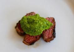 Easy Salsa Verde Recipe, great with grilled steak, or just about anything!  Even easier if you have a Vitamix!  http://thoughtfulcooking.com/easy-salsa-verde-recipe/