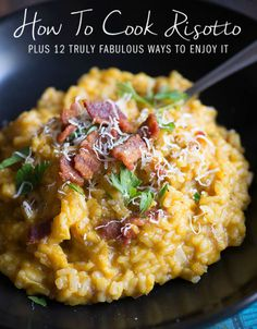 Risotto Recipes - How to Make Risotto