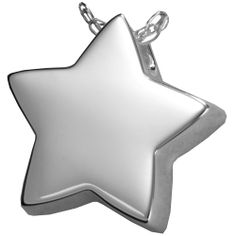 Cremation Jewelry: Slide Star