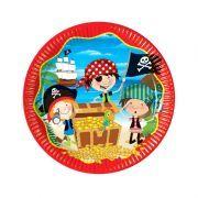 Korsan Little Pirates Temalı Doğum Günlerinizde Korsan Little Pirates Karton Tabaklarını Kullanabilirsiniz. Sofralarınız Daha Eğlenceli Ve Şık Olacaktır Korsan Little Pirates Karton Tabakları İle.