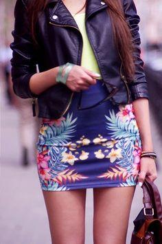 Um Blog Fashion -   Fashion Blog   Blog de Moda   Street Style   Looks  : Oh, tropical!