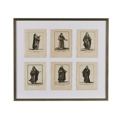 Antique French Images of Religious Figures