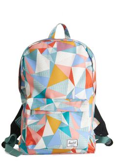 Prism and Blues Backpack by Herschel Supply Co. - Multi, Print, Scholastic/Collegiate, Darling, Nifty Nerd, International Designer, Travel