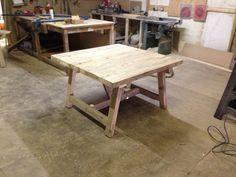 A trestle table 4 x 4 £350
