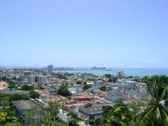 View from Sao Goncalo Maceio Alagoas Brazil
