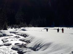 Schneeschuhtour ins Marbachtal in Flachauwinkl #visitflachau #schneeschuhwandern #naturgenuss