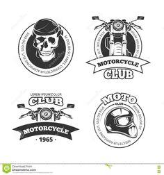 vintage-vector-motorcycle-motorbike-club-emblems-logo-set-chopper-helmet-skull-72137363.jpg (1300×1390)