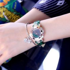 If you love all things shiny, these unique watches women is a must-buy for your accessory collection. If you are looking for unique watches women, that's your place. Discover the little secret about the crystals, which adds an extra touch of class. #uniquewatcheswomen #watcheswomenunique #watchesunique