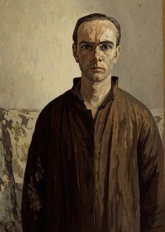 Edgar Fernhout (Dutch, Self-portrait, oil on canvas, Museum Boijmans van Beuningen, Rotterdam. Pinturas Art Deco, Famous Self Portraits, Selfies, Painting People, Dutch Painters, Collaborative Art, Gravure, Gouache, Art Blog