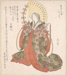 Yashima Gakutei (Japanese, 1786?–1868). Lady Komachi, 19th century. The Metropolitan Museum of Art, New York. H. O. Havemeyer Collection, Bequest of Mrs. H. O. Havemeyer, 1929 (JP2163)