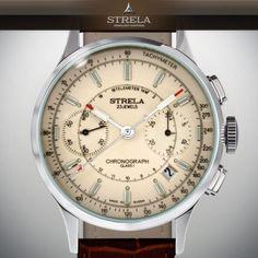 Strela-poljot-chrono-3133-Cosmos-Las-russian-Mechanical-watch