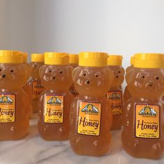 Baby bears filled with honey from Durango Colorado | Sparrow & Spoke