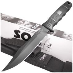 SOG SE37 SEAL Team Elite Bowie Knife   MooseCreekGear.com   Outdoor Gear — Worldwide Delivery!   Pocket Knives - Fixed Blade Knives - Folding Knives - Survival Gear - Tactical Gear